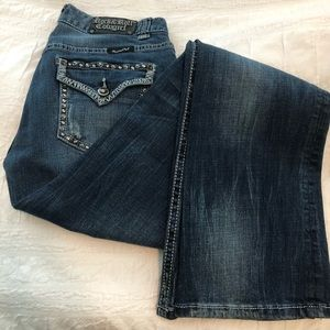 Rock & Roll Cowgirl Jeans - Excellent condition!!